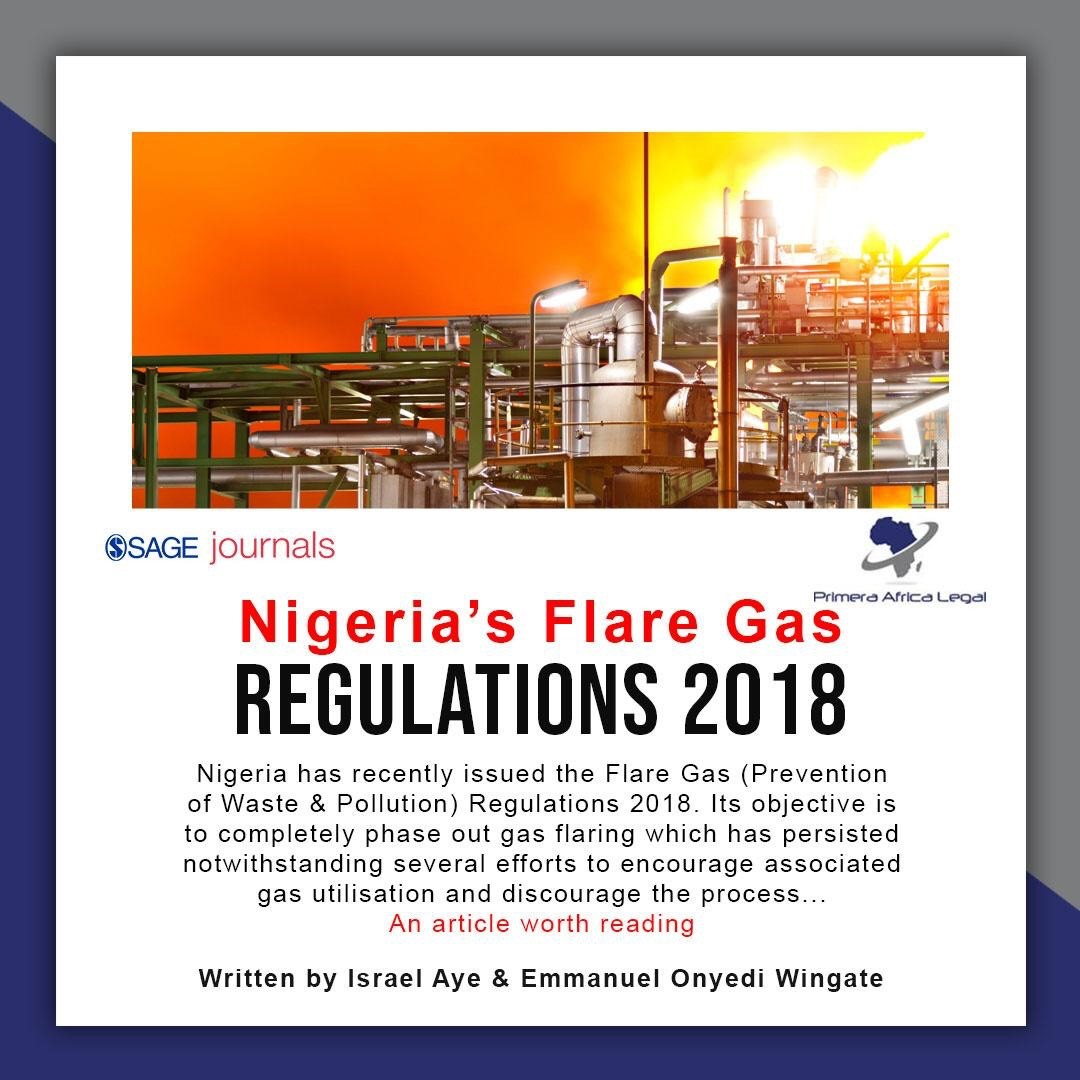 Nigeria's Flare Gas Prevention of Waste & Pollution Regulations 2018