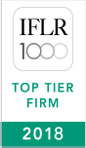 IFLR 1000 TOP tIER fIRM 2018